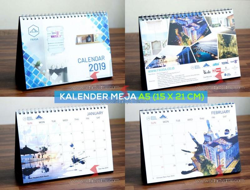 Cetak Kalender Meja fikasa