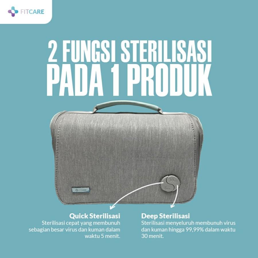 Tas sterilizer, sterilisasi barang, Sterilisasi, UV Sterilizer, Sterilizer Bag, Tas Pembasmi Virus, Anti virus dan bakteri,